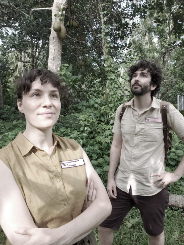 The Department of Amphibological Research was founded by Matteo Farinella and Pamela Parker in 2018.